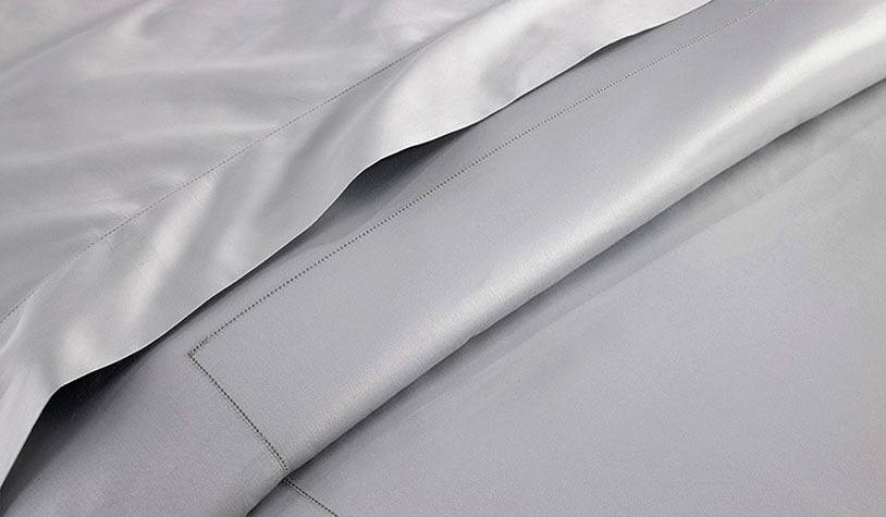 Grey Hemstitch Sheets