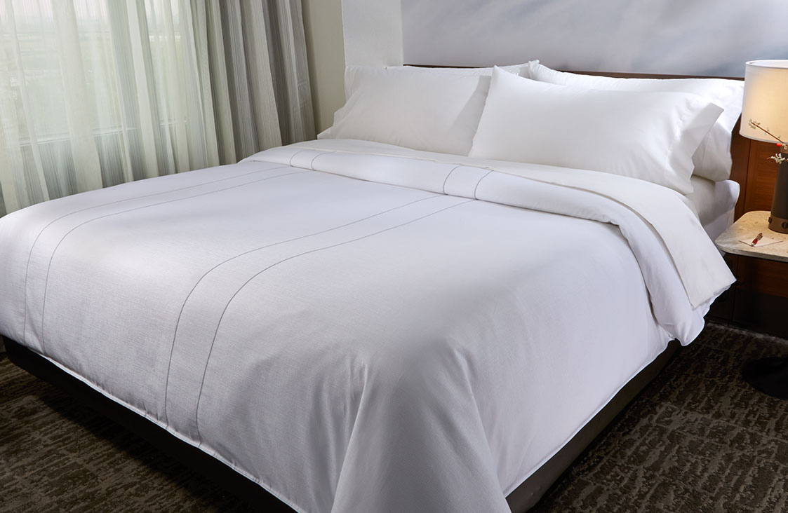 Duvet Covers.Marriott Platinum Stitch Duvet Cover